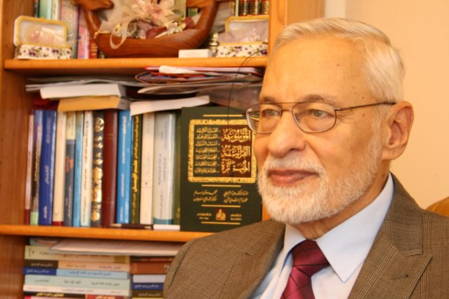 Ali al-Bayanouni photo Tam Hussein