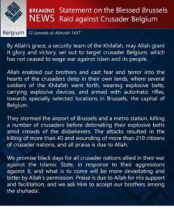 ISIS press release