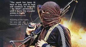 Here is an example of modern Jihadist propaganda tapping into an old tradition.