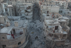 Devastated Eastern Aleppo (credit: AMC)