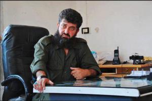 Ahmed Issa al-Sheikh or Abu Issa leader of Suqour al-Sham
