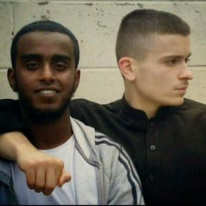 Fatlum and Mohammed Nasser